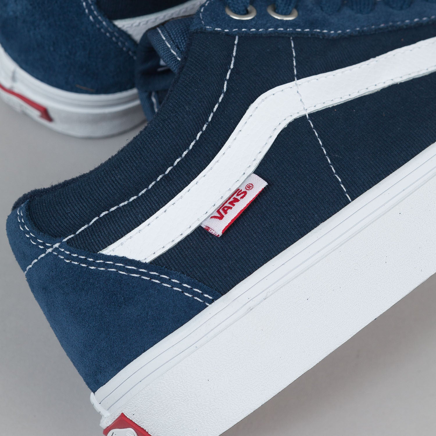 Vans TNT SG Shoes - (Washed Canvas) Navy / White