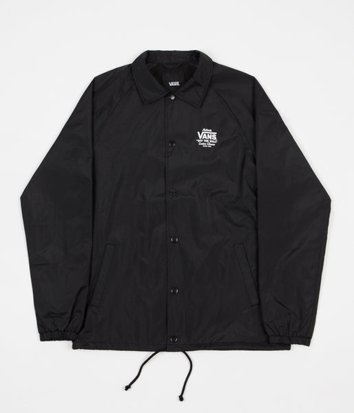 Vans Torrey Coaches Jacket - Black / White
