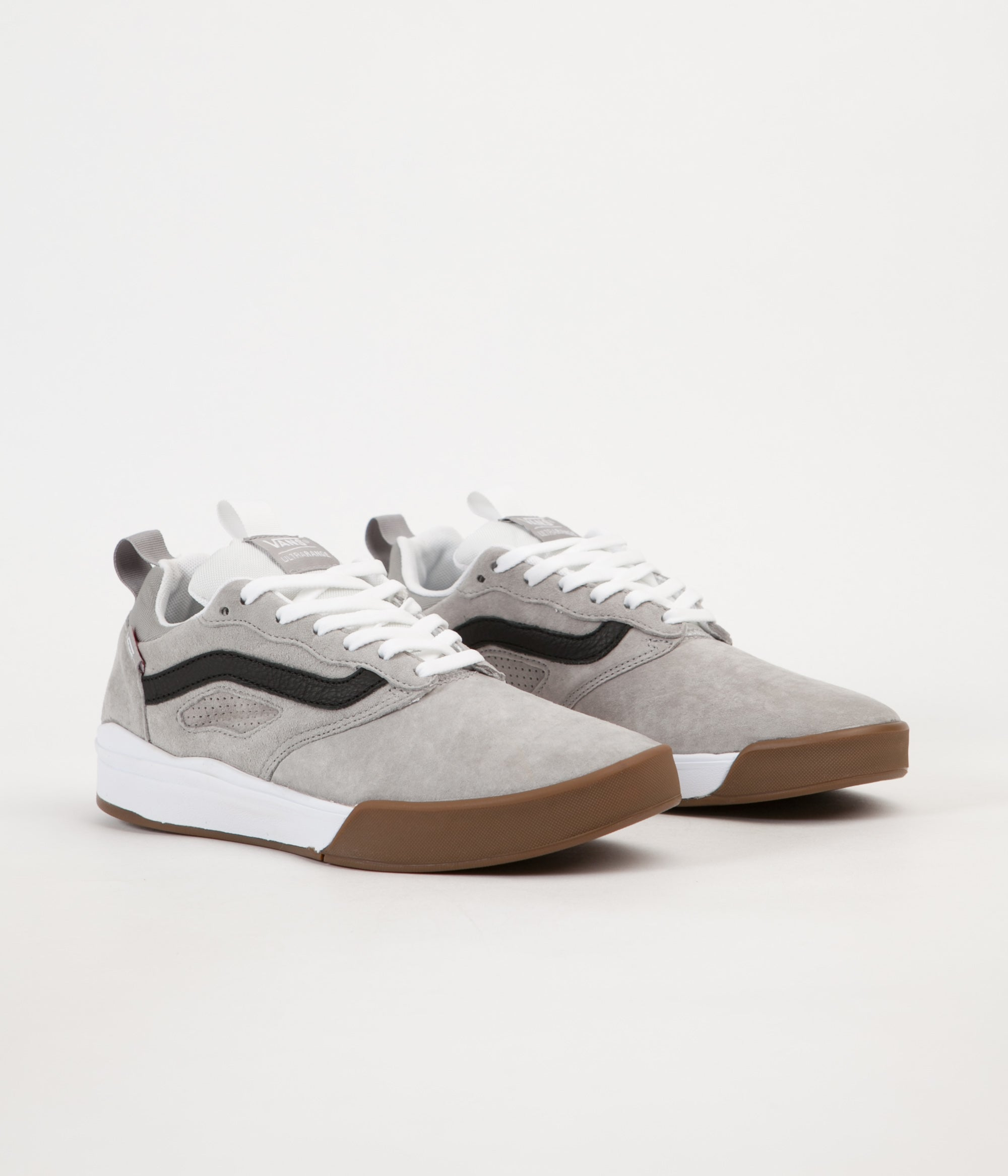 82b8f6bdd54e70 ... Vans Ultrarange Pro Shoes - Drizzle   White ...