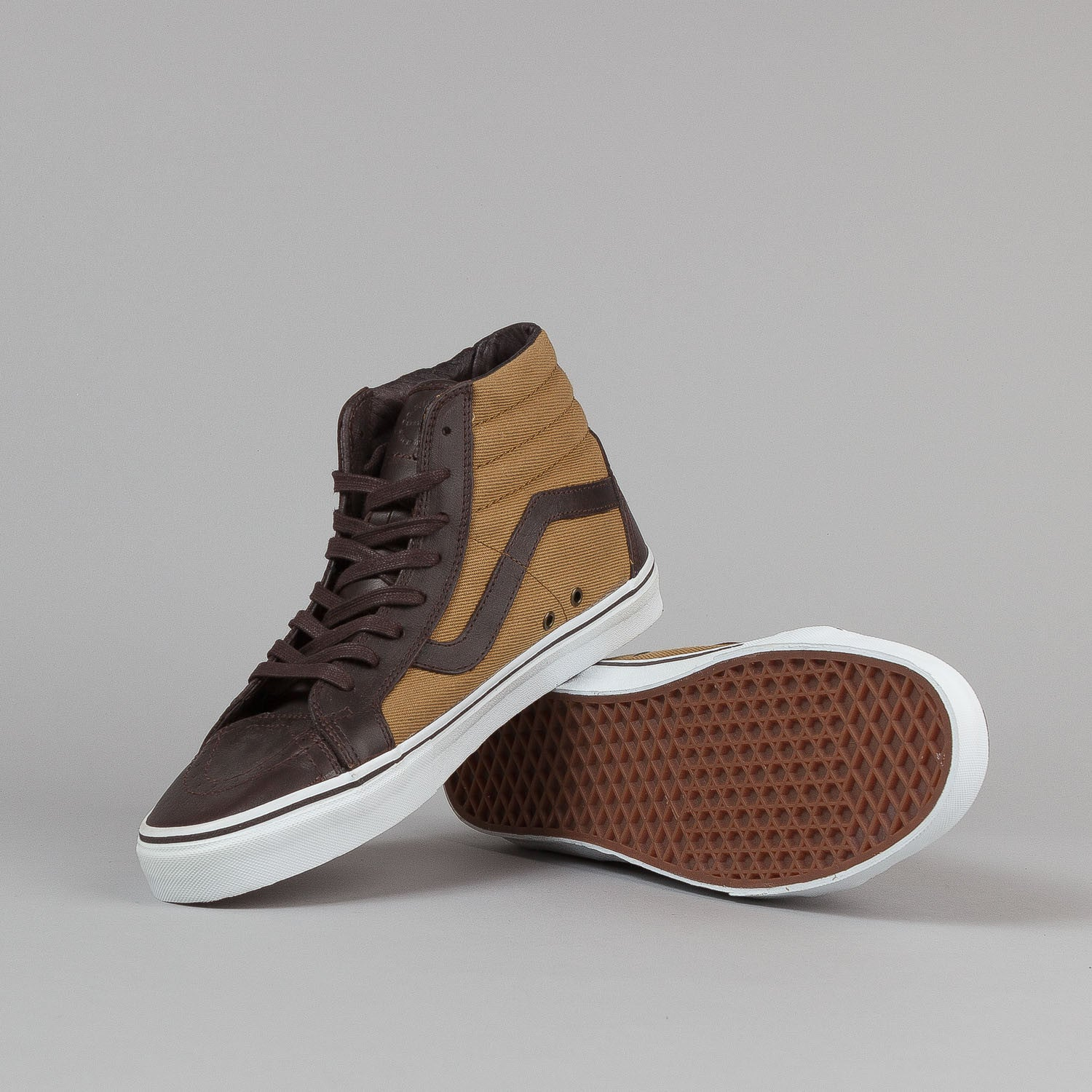 Vans Vault X Filson Sk8-Hi Shoes - Brown / Tan