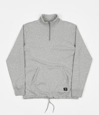 Vans Versa DX Quarter Zip Sweatshirt - Cement Heather