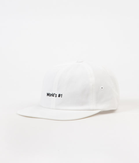 Vans World's #1 Jockey Cap - White