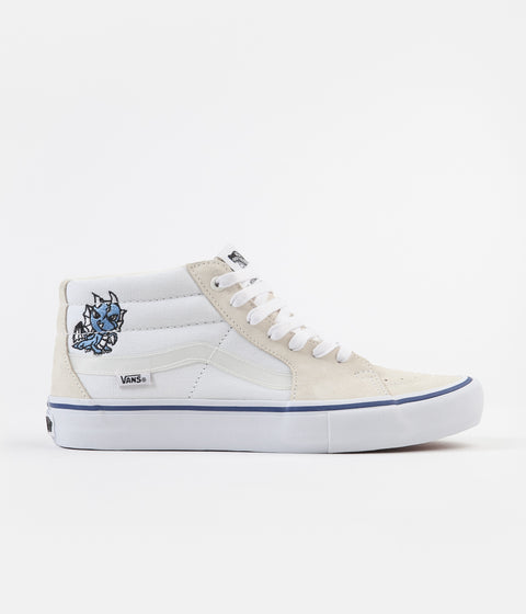 Vans x Alltimers Sk8-Mid Pro Shoes - True White