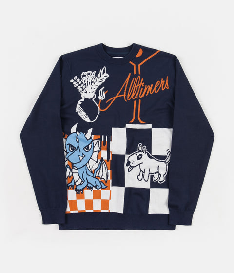 Vans x Alltimers Sweatshirt - Dress Blues