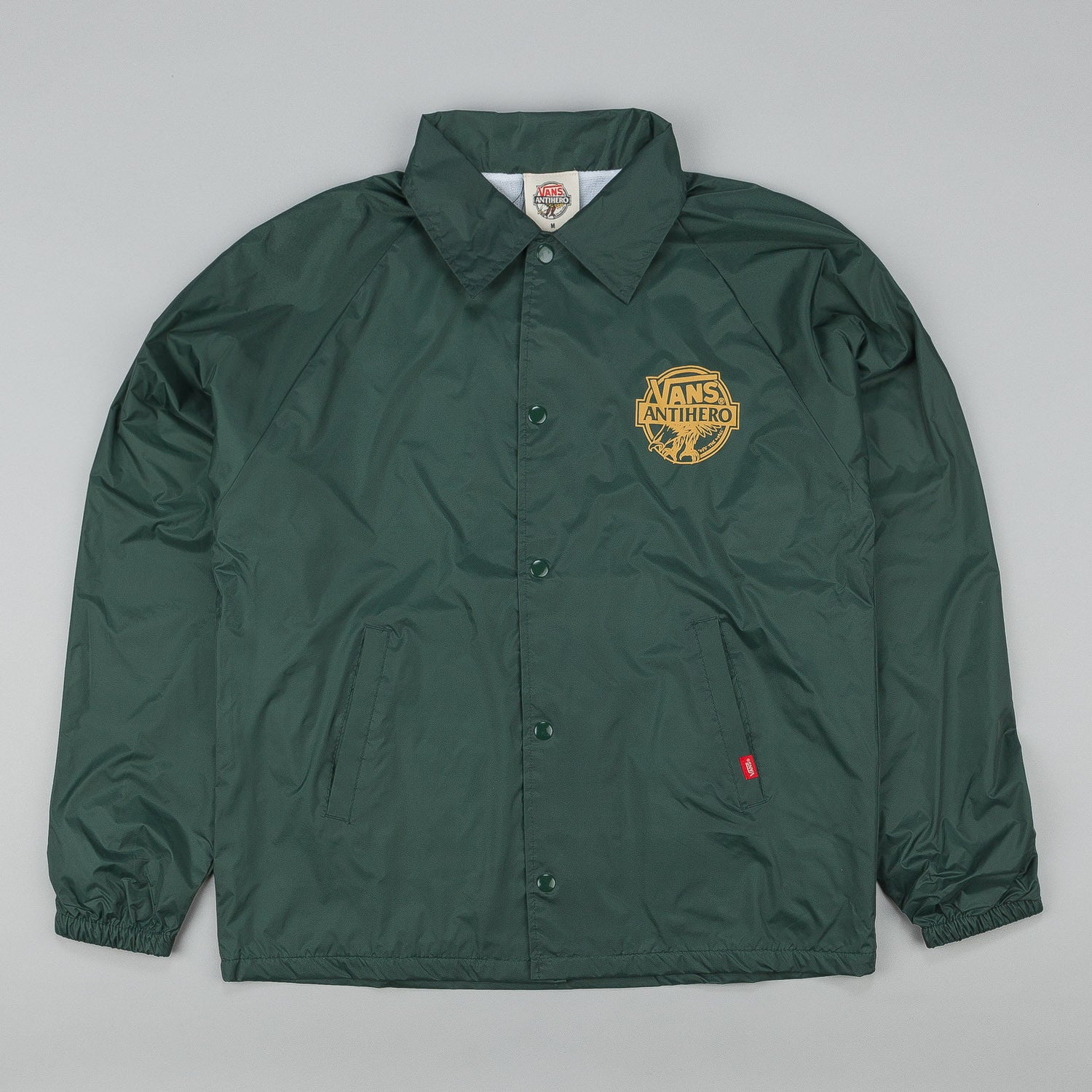 Vans X Anti Hero Coach Jacket - Pine Green