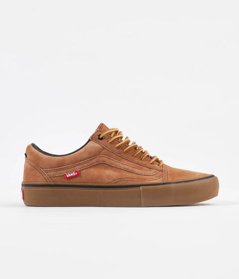 5ce0fc17ed Vans x Anti Hero Old Skool Pro Shoes - Cardiel   Camel