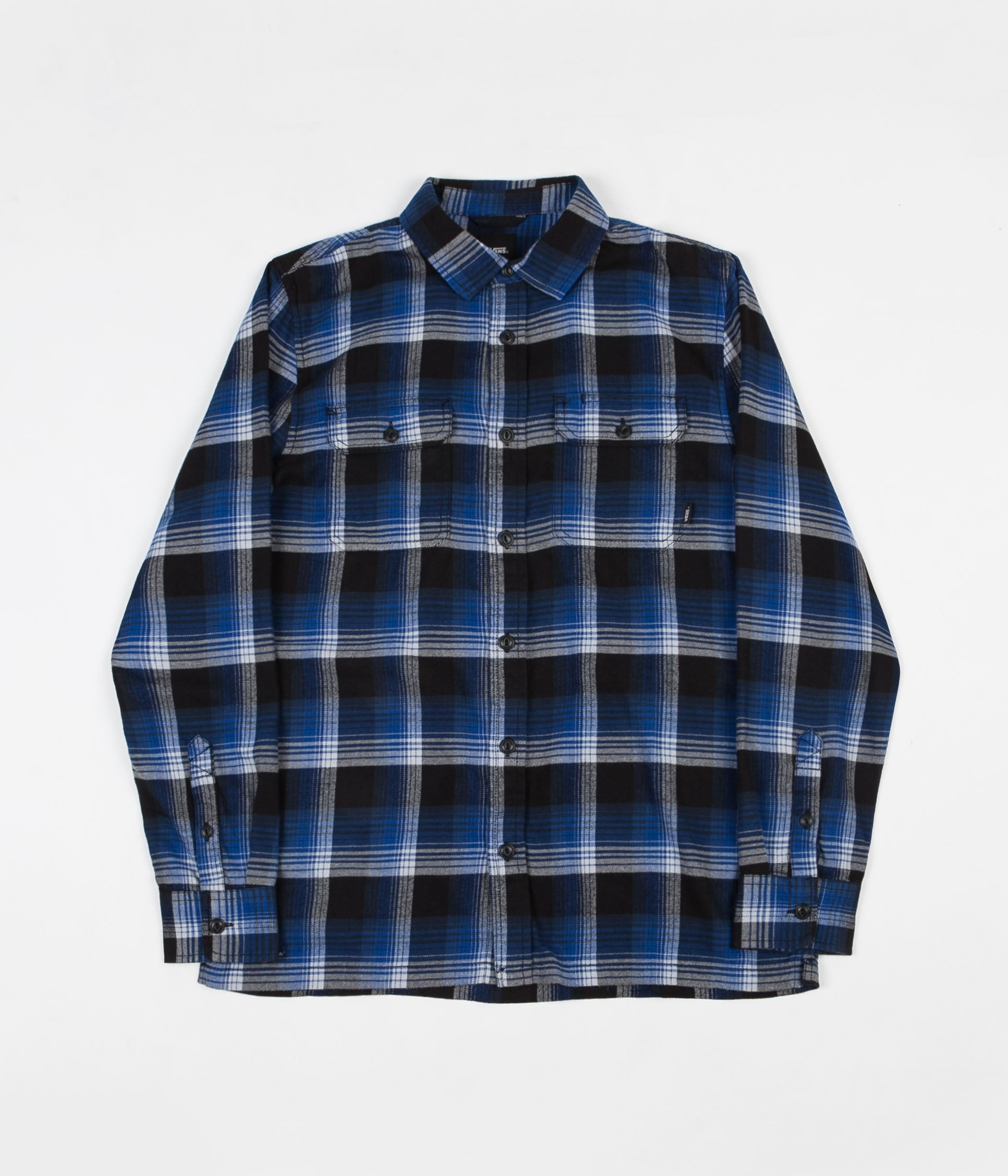 aaf39077f8 Vans x Anti Hero Wired Flannel Shirt - True Blue / Black | Flatspot