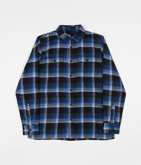 Vans x Anti Hero Wired Flannel Shirt - True Blue / Black
