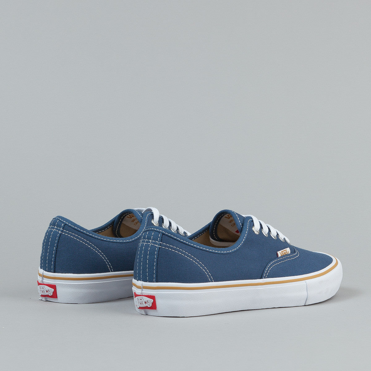 Vans X Antihero Authentic Pro Shoes - Blue / Stranger