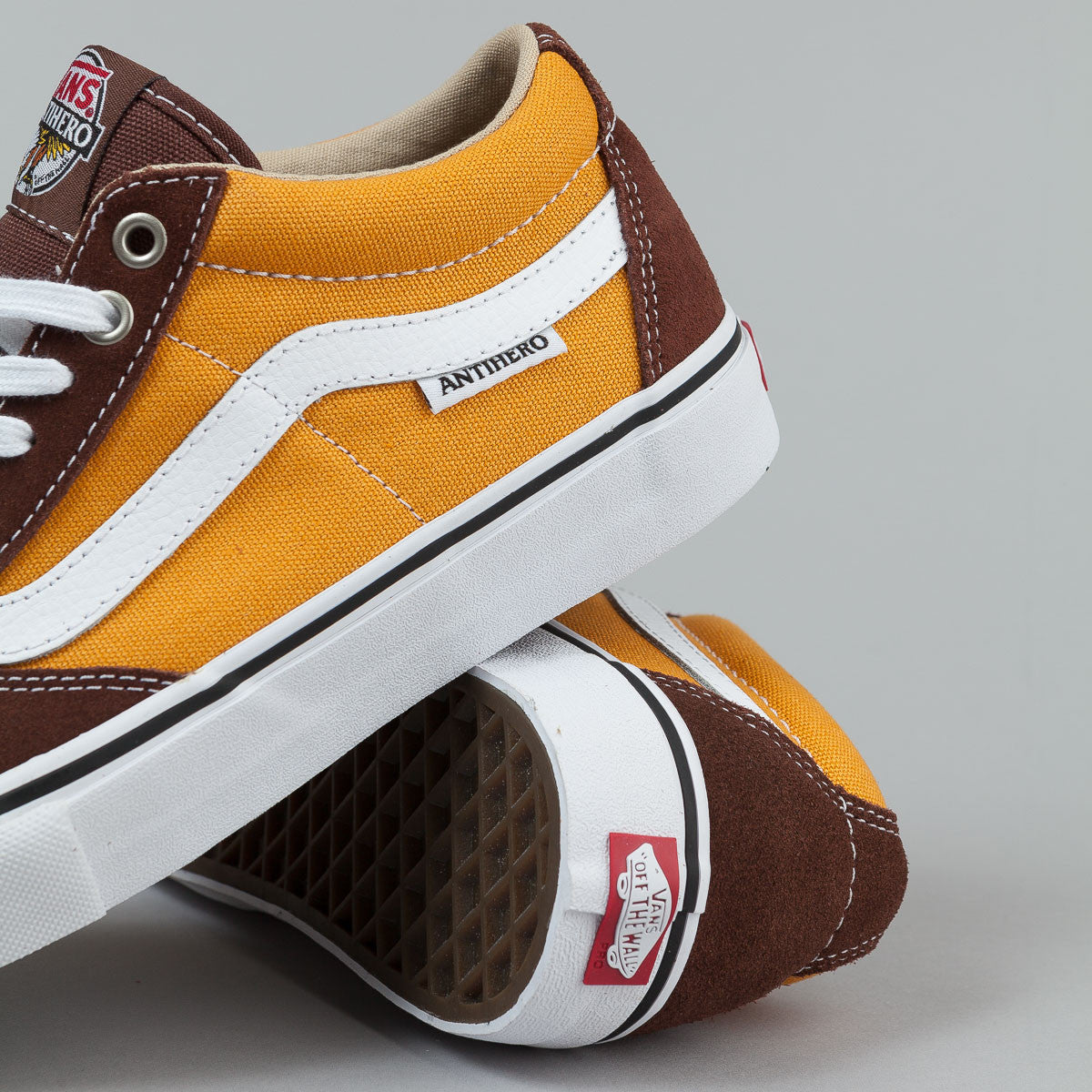 ... Vans X Antihero TNT SG Shoes - Brown / Trujillo ...