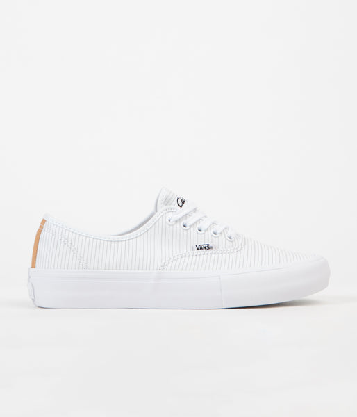 Vans x Civilist Authentic Pro Shoes - True White / Honey