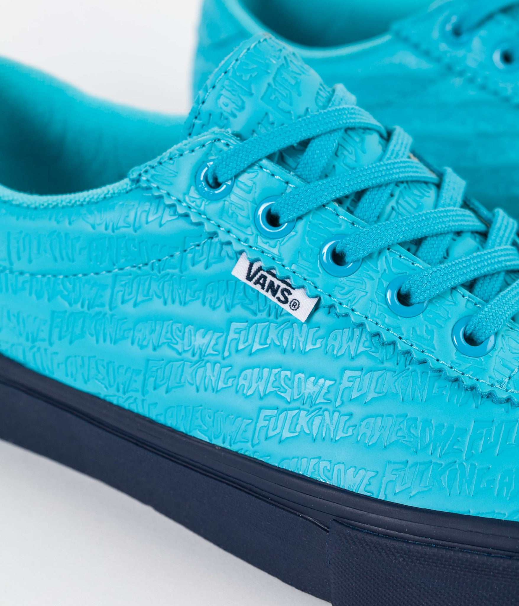 f22090f3ce4 ... Blue Vans x Fucking Awesome Epoch  94 Pro Shoes - Bright ...