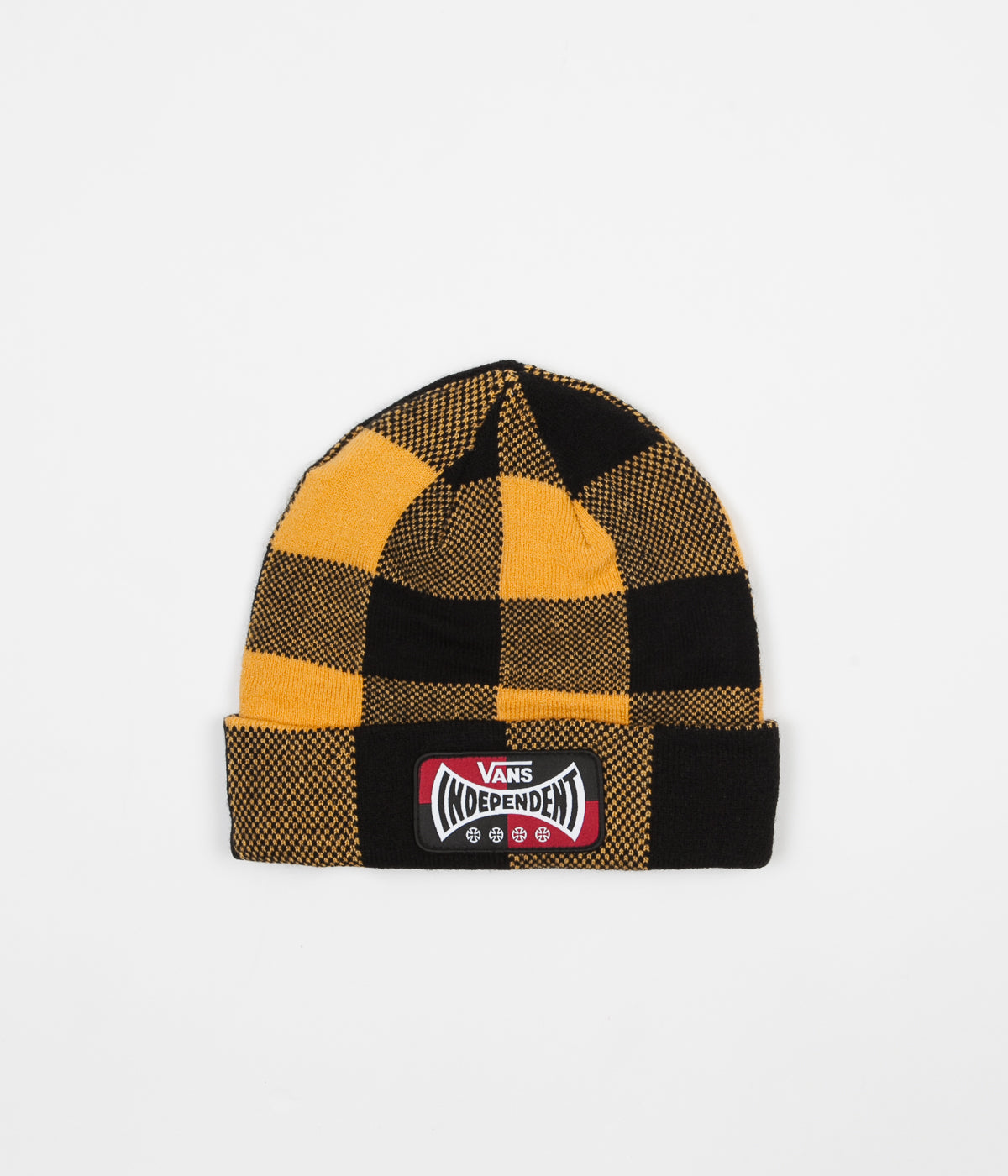 Vans x Independent Check Beanie - Sunflower