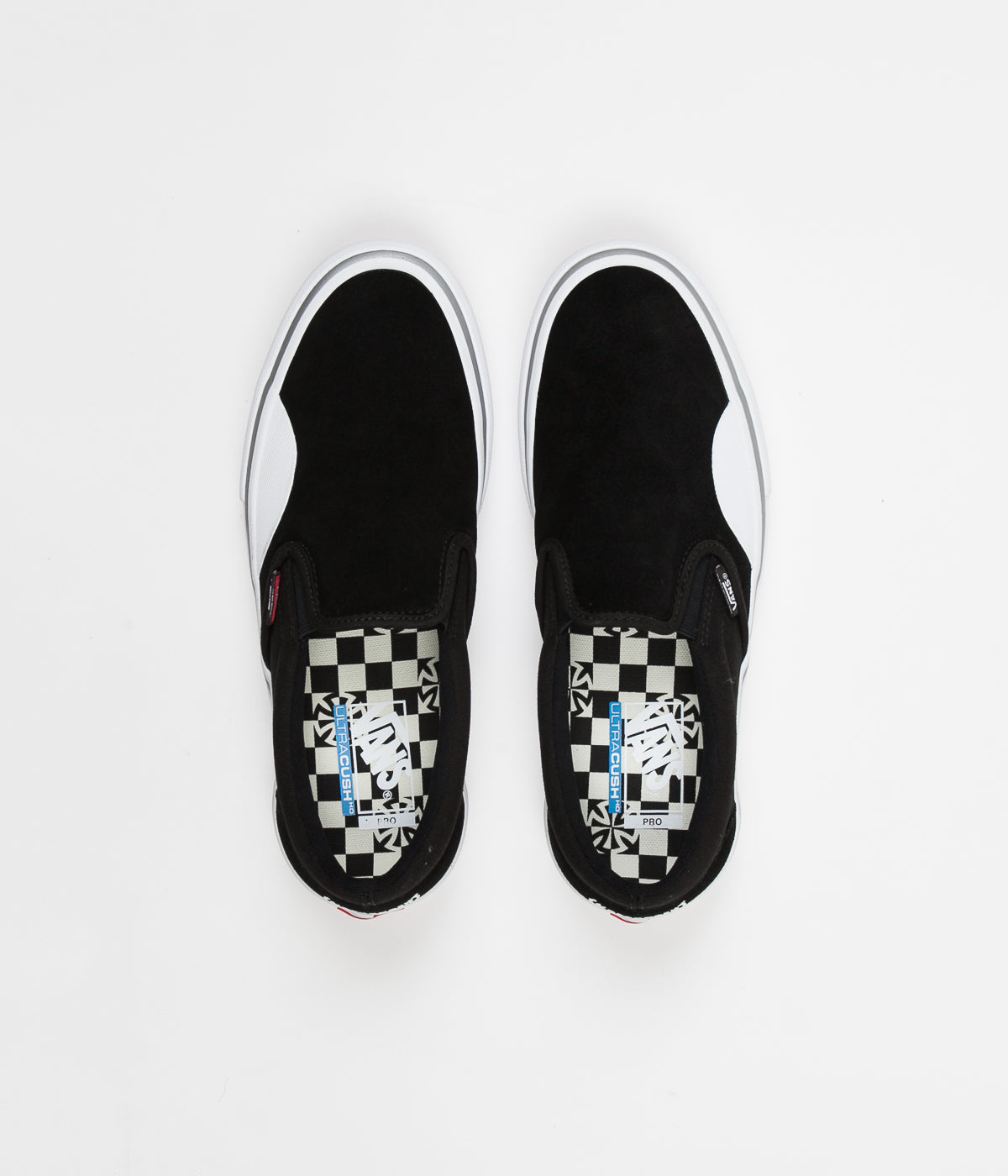 69903b164b5bda Vans x Independent Slip On Pro Shoes - Black   White ...