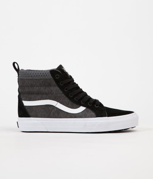 Vans x Mission Workshop Sk8-Hi MTE DX Shoes - Black / Asphalt / White