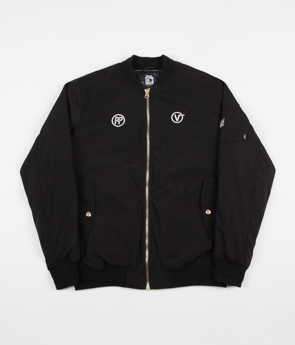 Vans x Pass Port Jacket - Black