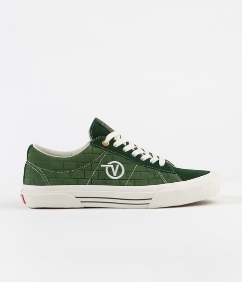 Vans x Pass Port Sid Pro Shoes - Dark Green