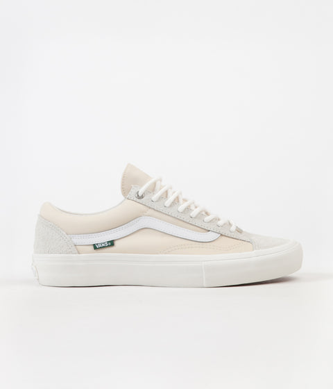 Vans x Pop Trading Company Style 36 Pro Shoes - Turtledove / Marshmallow