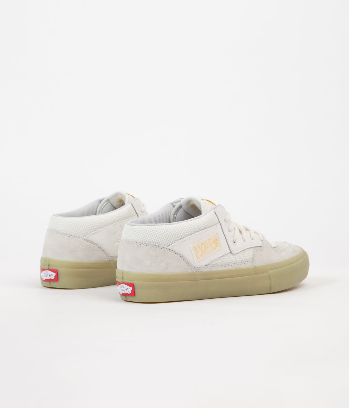891dc6c0c5 ... Size 8.5 Glow In The Dark VN0A38CPP9Q White ... Vans x Pyramid Country  Half Cab Pro GITD Shoes - White Glow In ...