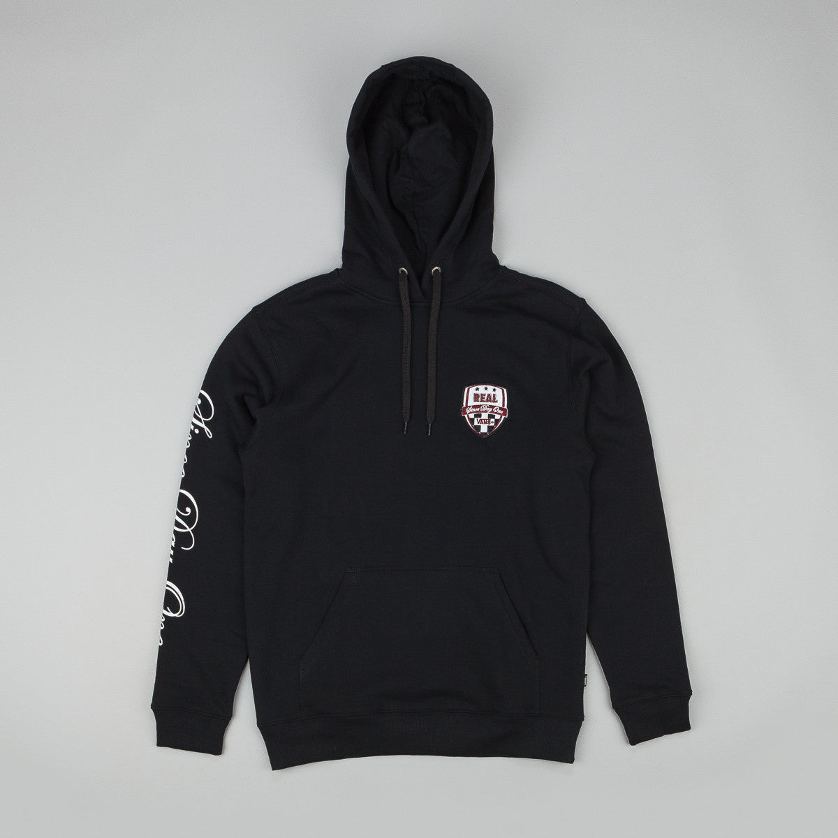 Vans X Real Hooded Sweatshirt Black