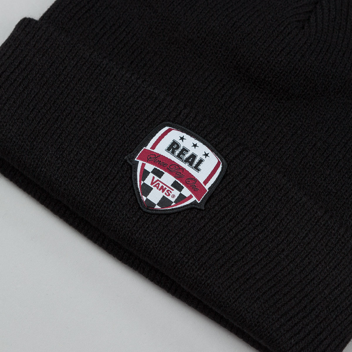 Vans X Real Skateboard Beanie Black