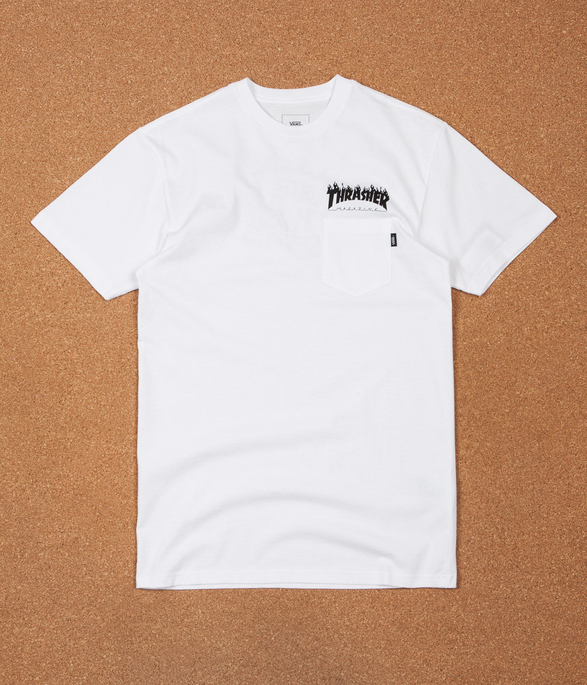 5af2b47978 Vans X Thrasher Pocket T-Shirt - White
