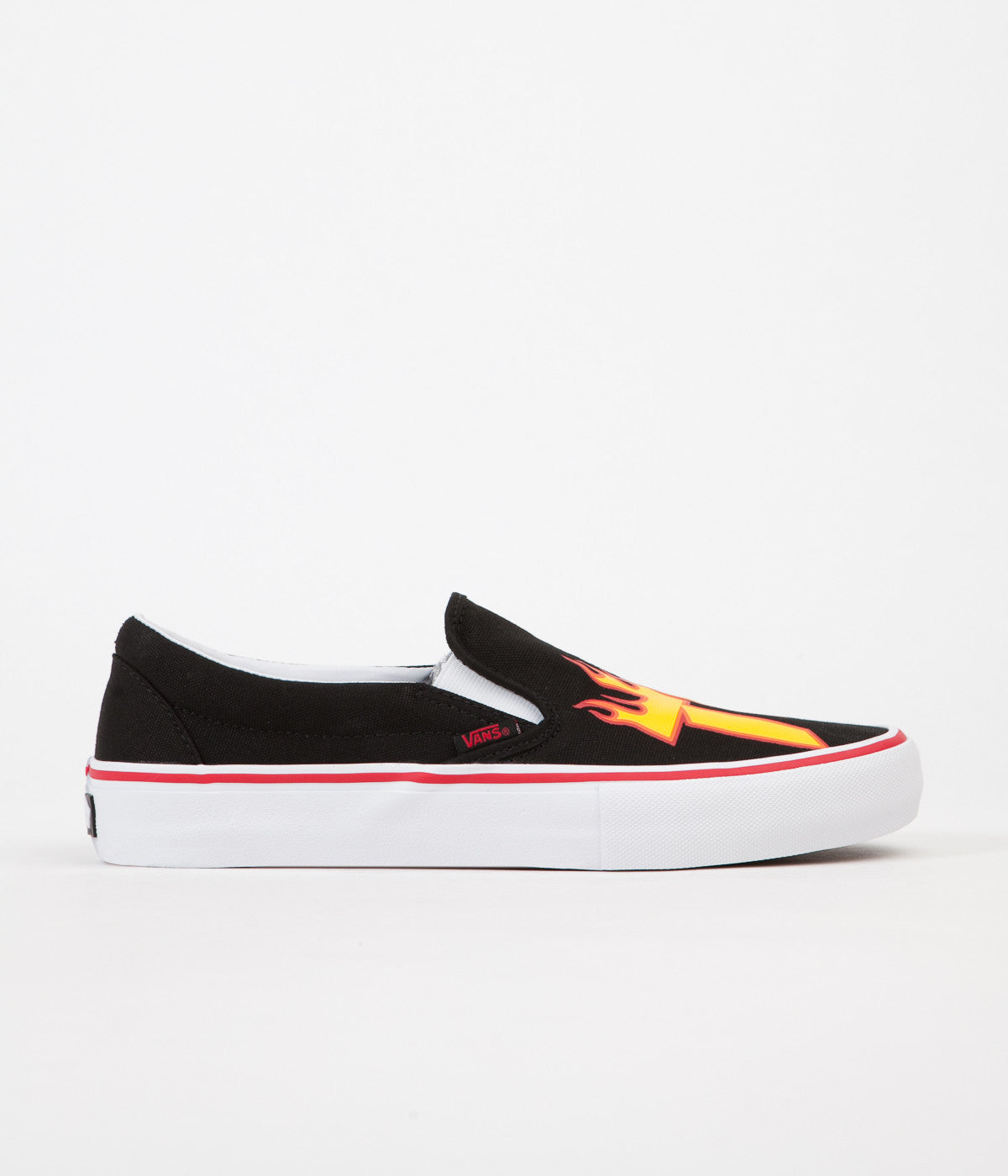 2a5ea6a79b4 Vans x Thrasher Slip On Pro Shoes - Black