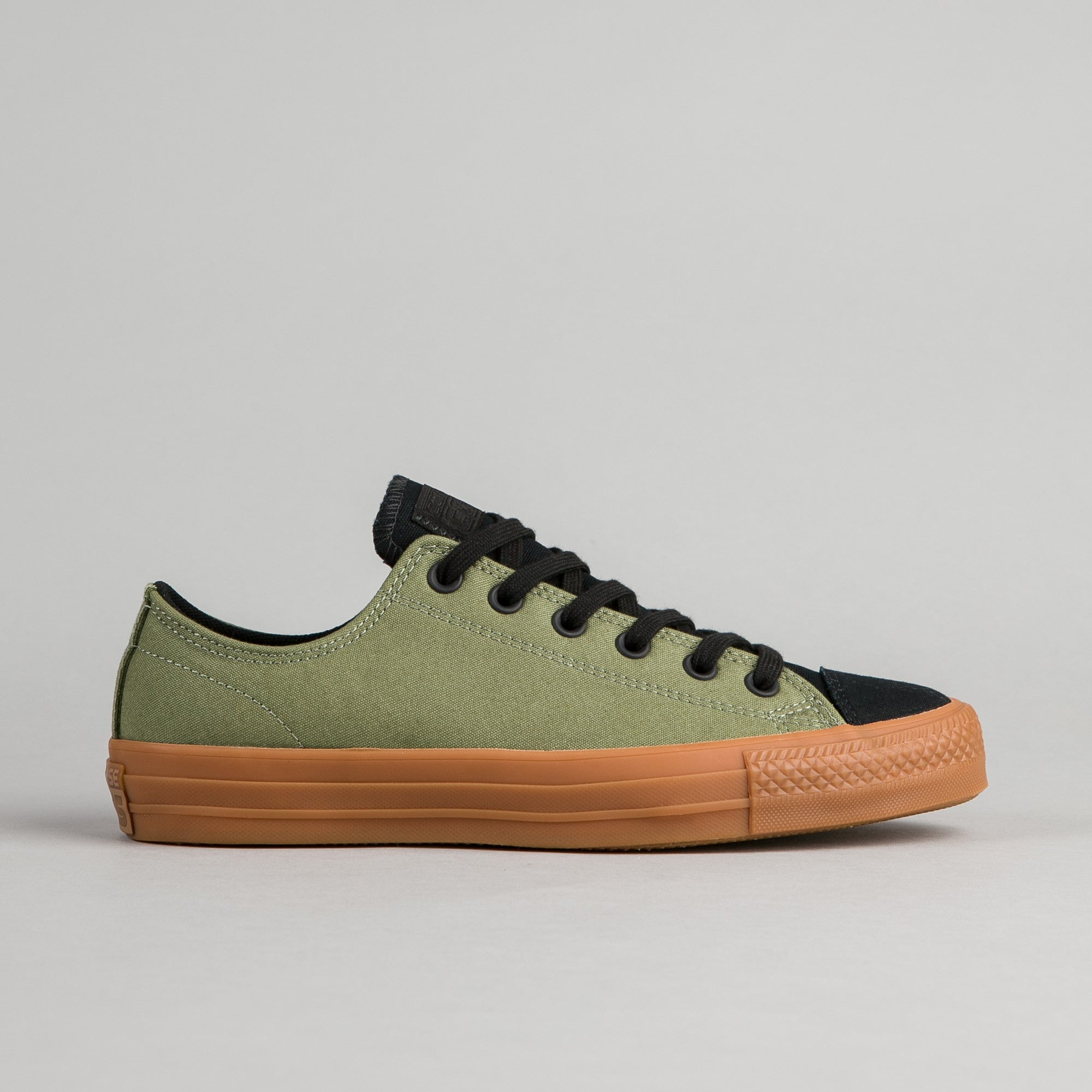 Converse CTAS Pro Suede Backed Canvas OX Shoes - Green