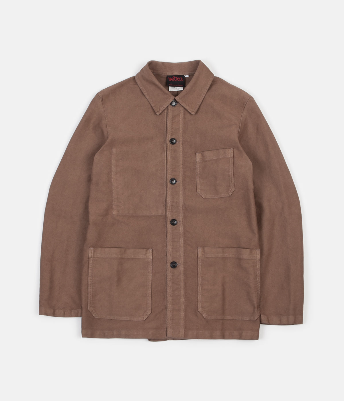 Vetra French Moleskin No.4 Workwear Jacket - Cachou
