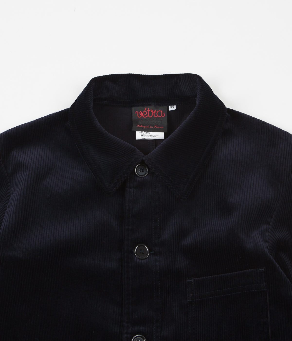 Vetra Medium Wale Corduroy Stretch Jacket - Navy