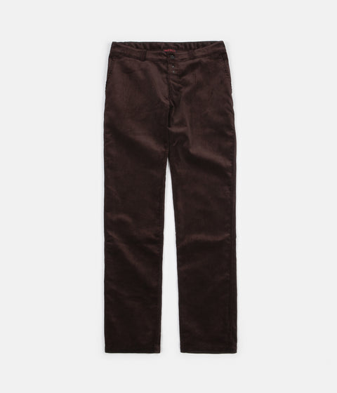 Vetra Medium Wale Corduroy Trousers - Brown