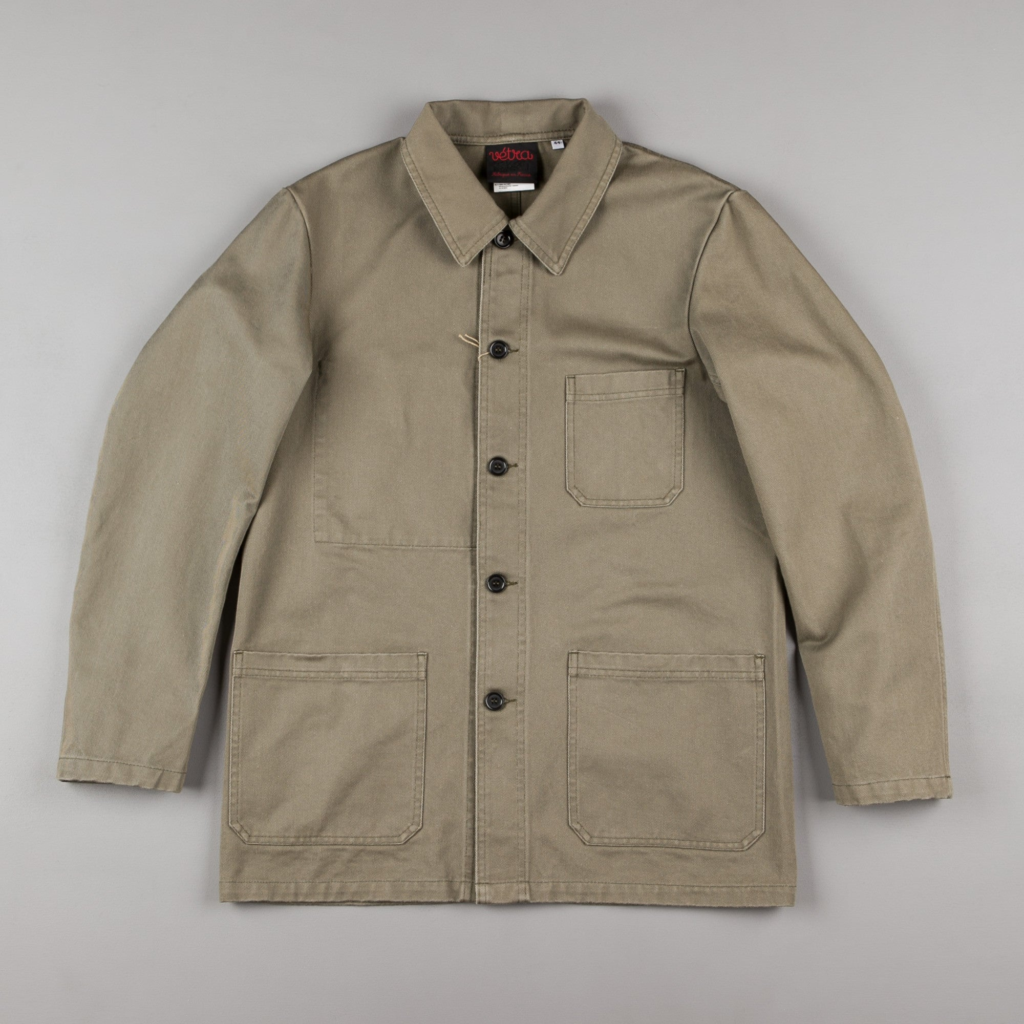 Vetra No.4 Workwear Jacket - Beige