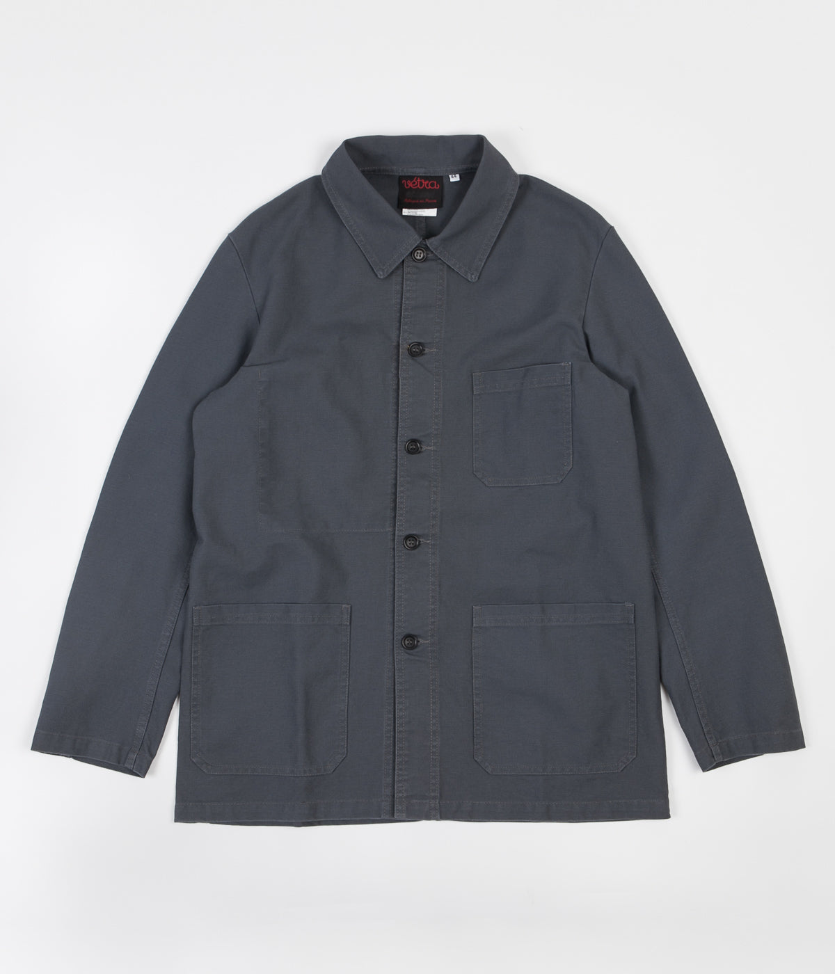 Vetra No.4 Workwear Jacket - Metal Grey
