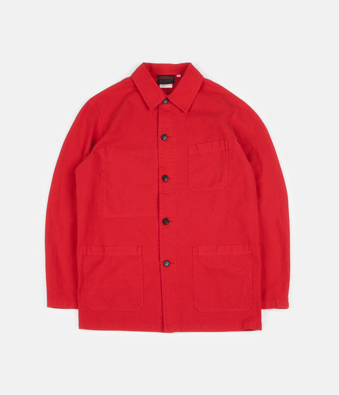 Vetra No.4 Workwear Jacket - Poppy Red