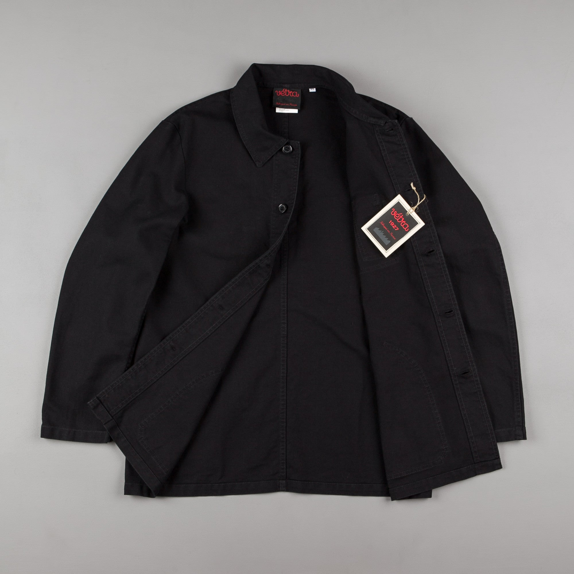 Vetra No.4067 Workwear Jacket - Black