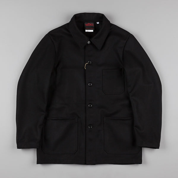 Vetra No.4 Wool Workwear Jacket - Black