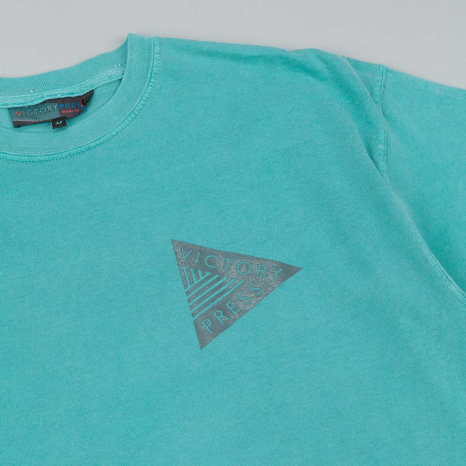 Victory Press VP Logo T-Shirt - Seafoam