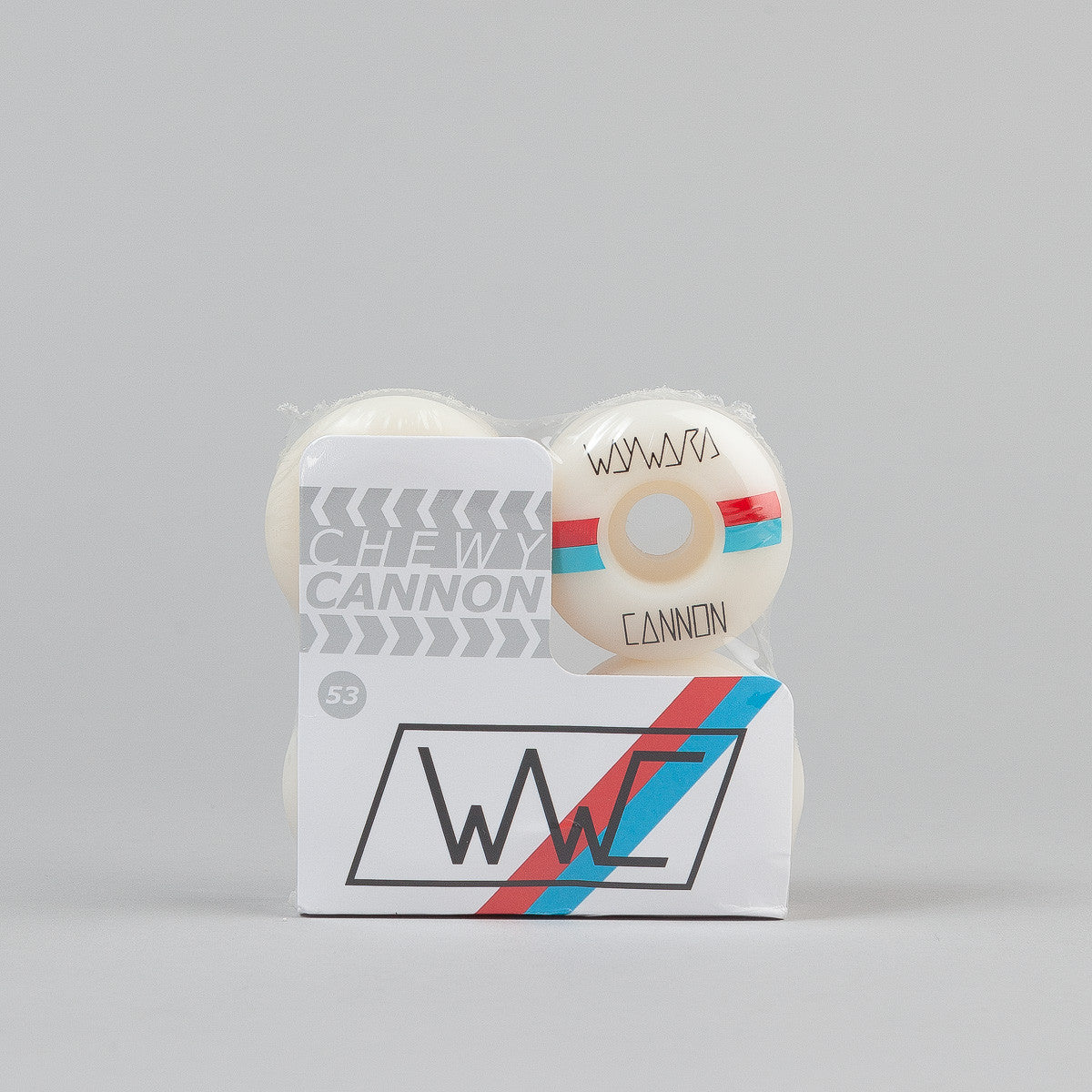 Wayward Chewy Cannon Race Stripes Wheels - 101A Wide 53mm