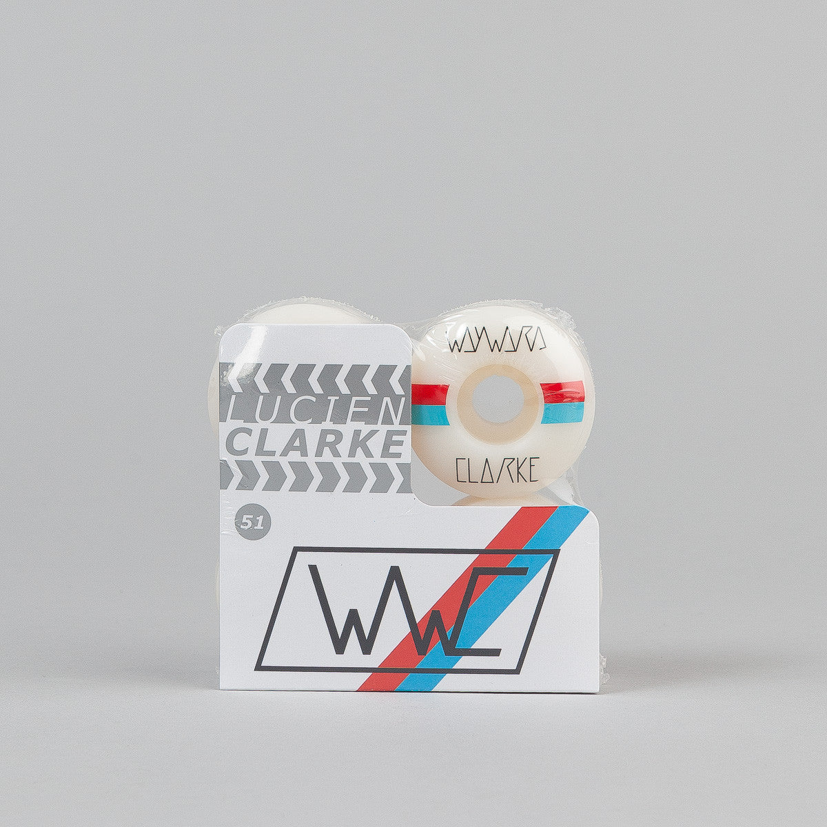 Wayward Lucien Clarke Race Stripes Wheels - 101A 51mm