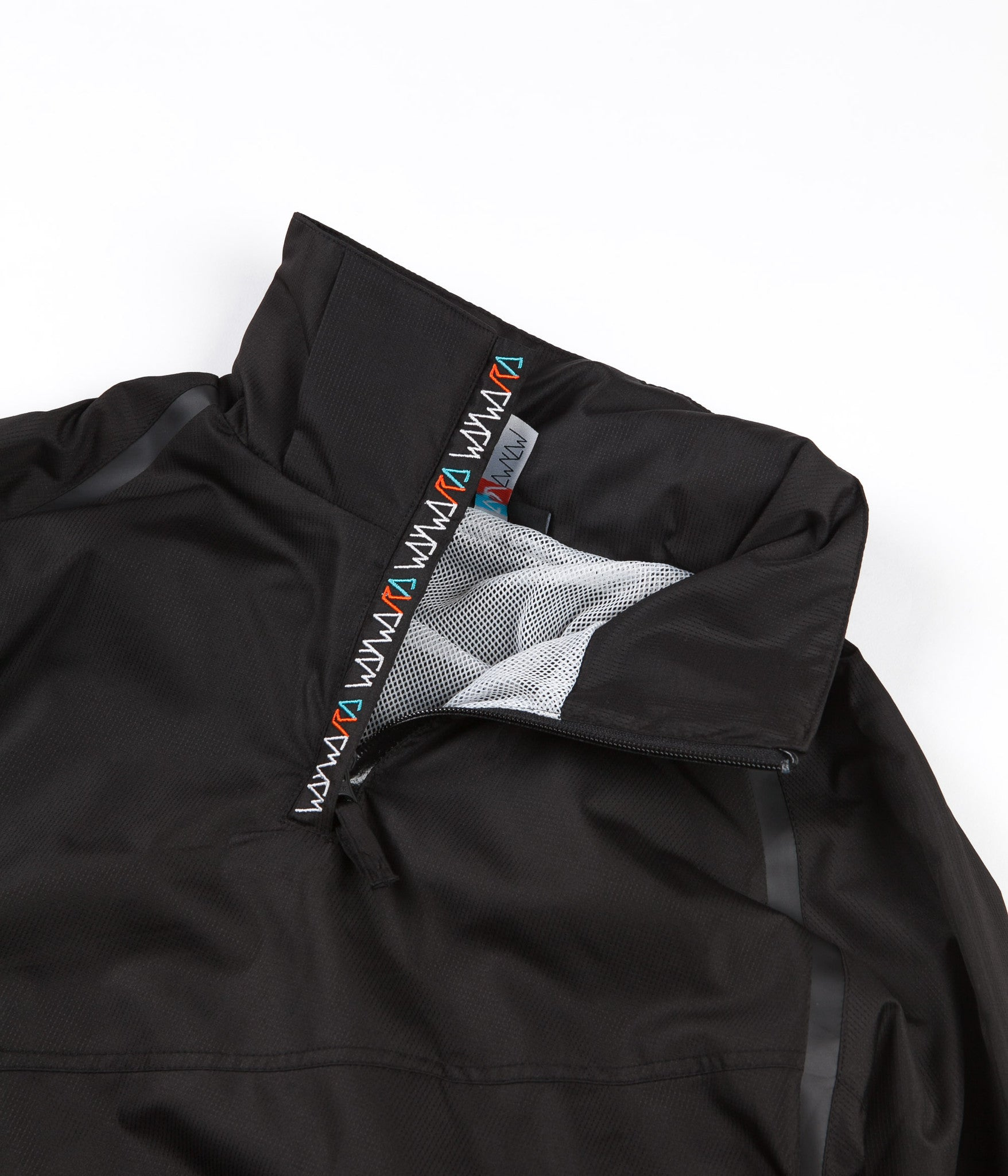 Wayward Radial Windbreaker Jacket - Black