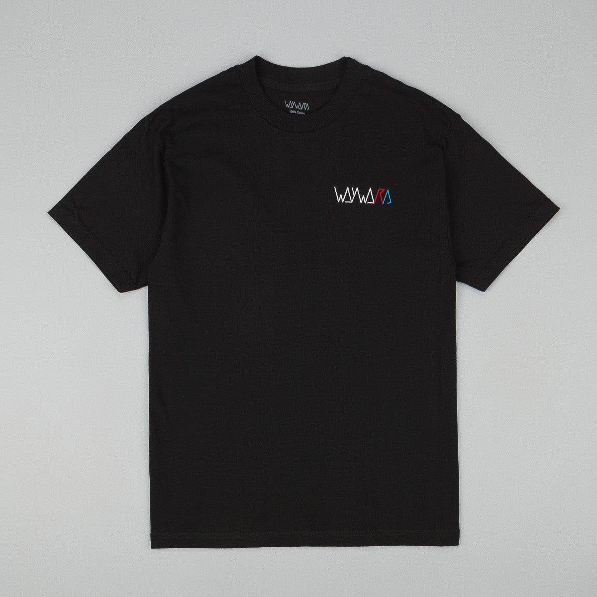 Wayward Strider Logo Embroidered T-Shirt - Black
