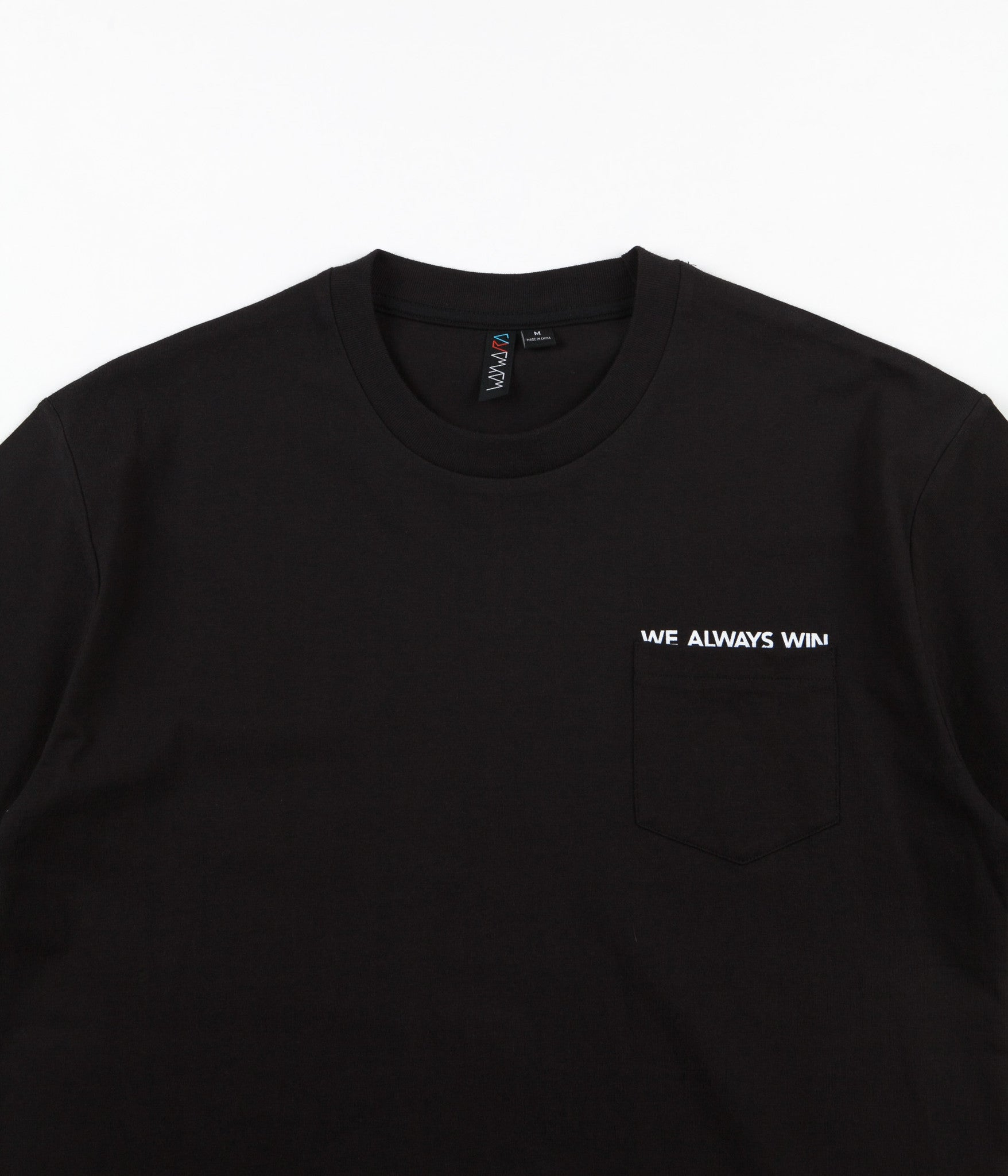Wayward V-12 Pocket T-Shirt - Black