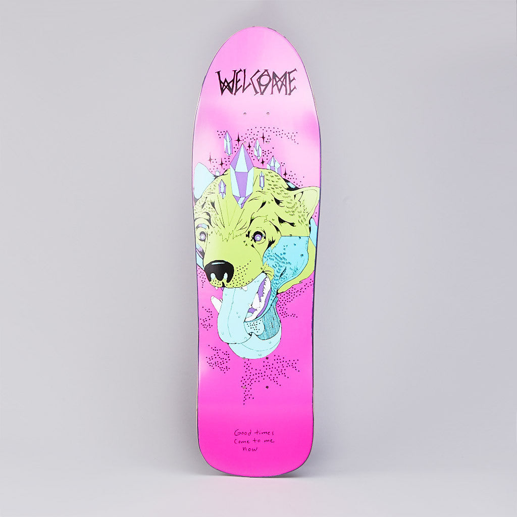 Welcome Bear With US Mandrake Shape Deck 9.25""