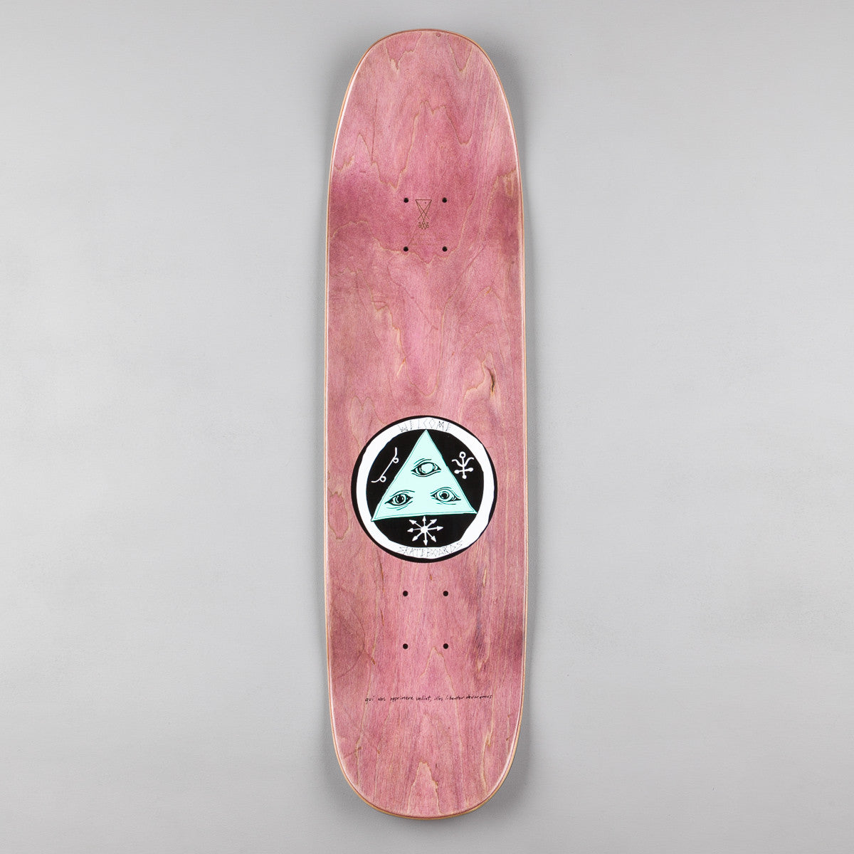 Welcome Skateboards Black Beak on Son of Moontrimmer Deck - White - 8.25""
