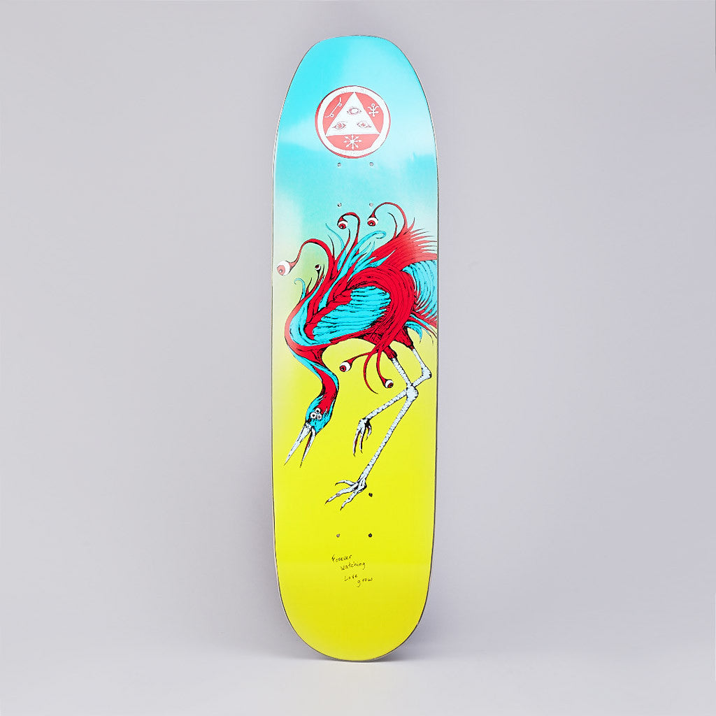 Welcome Love Watcher Moontrimmer Shape Deck 8.5""