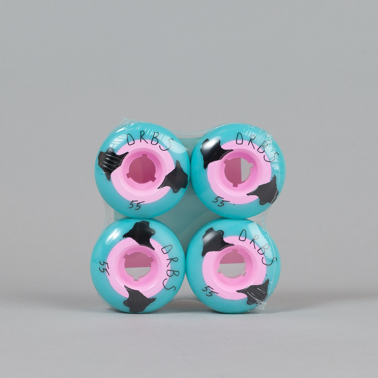 Welcome Orbs Poltergeist Wheels Blue / Pink 55mm