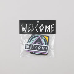 Welcome Patch Pack of 4