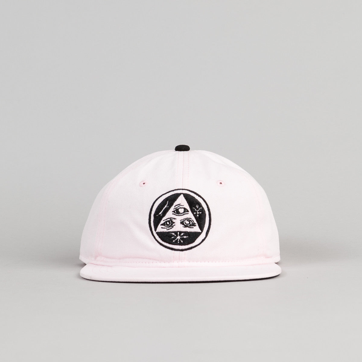 Welcome Skateboards Talisman Unstructured Snapback Cap - Pink / Black