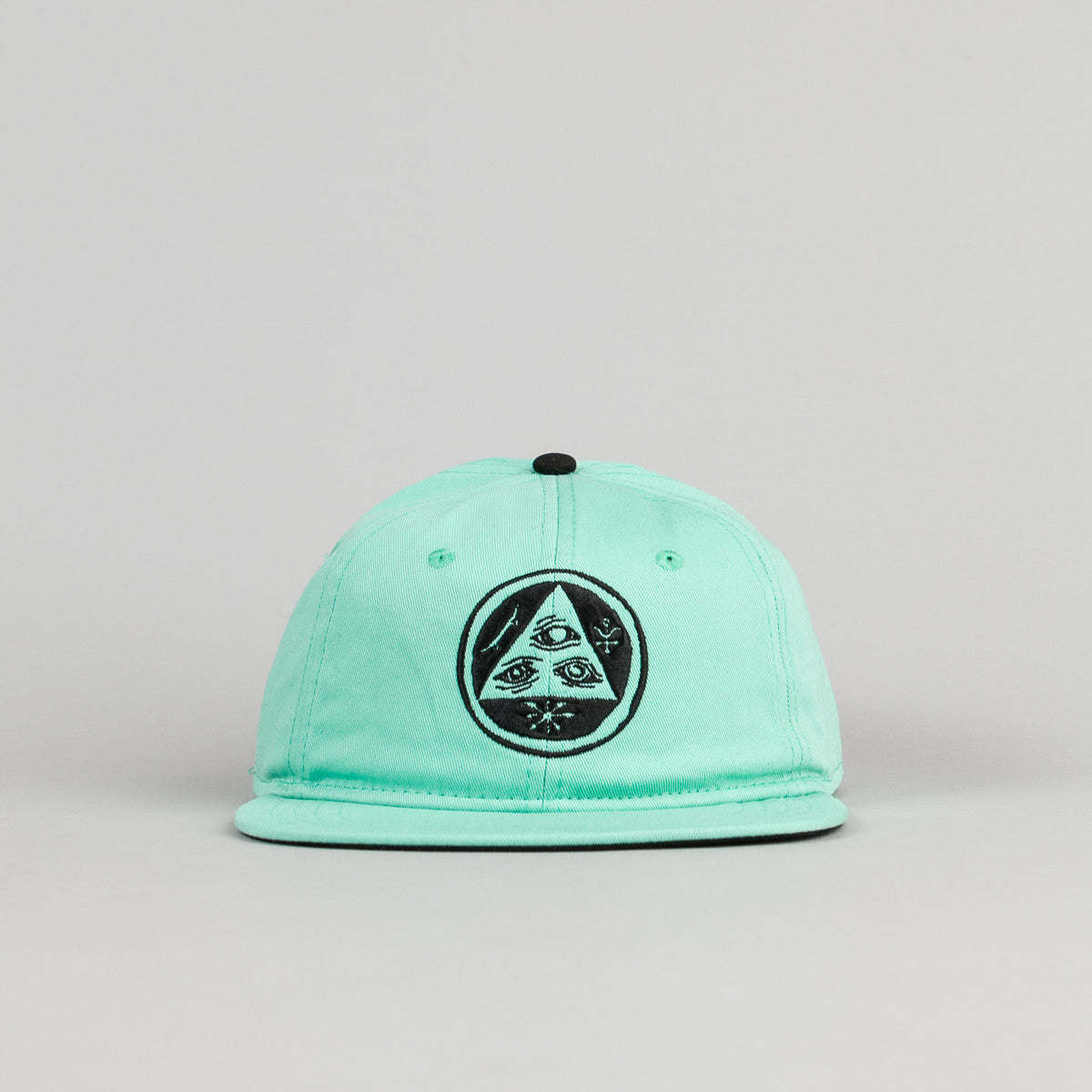 Welcome Skateboards Talisman Unstructured Snapback Cap - Mint / Black