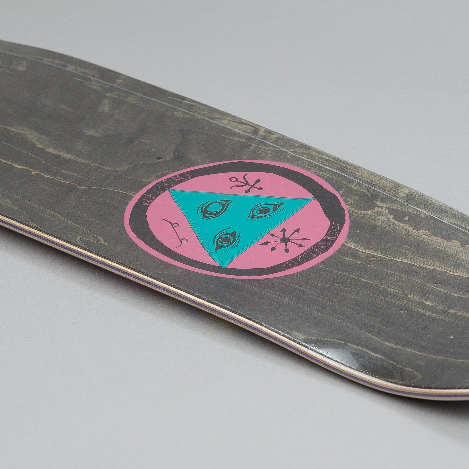 Welcome Rhiannon Nimbus 5000 Shape Deck Purple 8.75